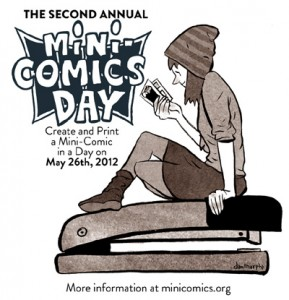 Mini-Comics Day banner
