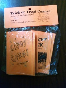 Trick or Treat Comics 2 set in bag